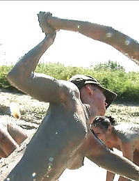 Exclusive Actiongirls Boot Camp Mud Wars Photos & Movies