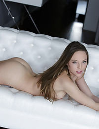 Watch this 19 year-old fashion model masturbate until she's slippery & wet. Aubrey is exclusive to X-Art and showing off her best assets (beautiful, mysterious eyes, perky breasts and pink pussy included). I can't imagine anyone who can say no to her.. Offering 100% pure Aubrey right here, right now xoxo Colette :-)