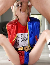 Bad Girl Piper Perri - Harley Quinn naughty trick or treat
