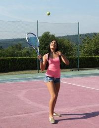 Tennis Coach featuring Ana Rose by Als Photographer